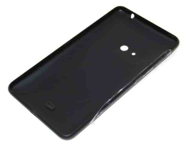Nokia Lumia 625 Akkukotelo - Musta 2