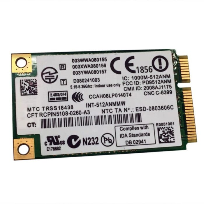 INTEL WIFI LINK 5100 (802.11b/g) 300m langaton verkkokortti 1