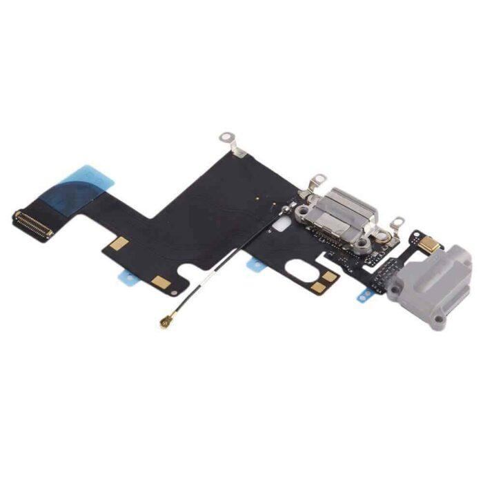 iPhone 6 Latausliitin Flex Kaapeli (Harmaa) 1