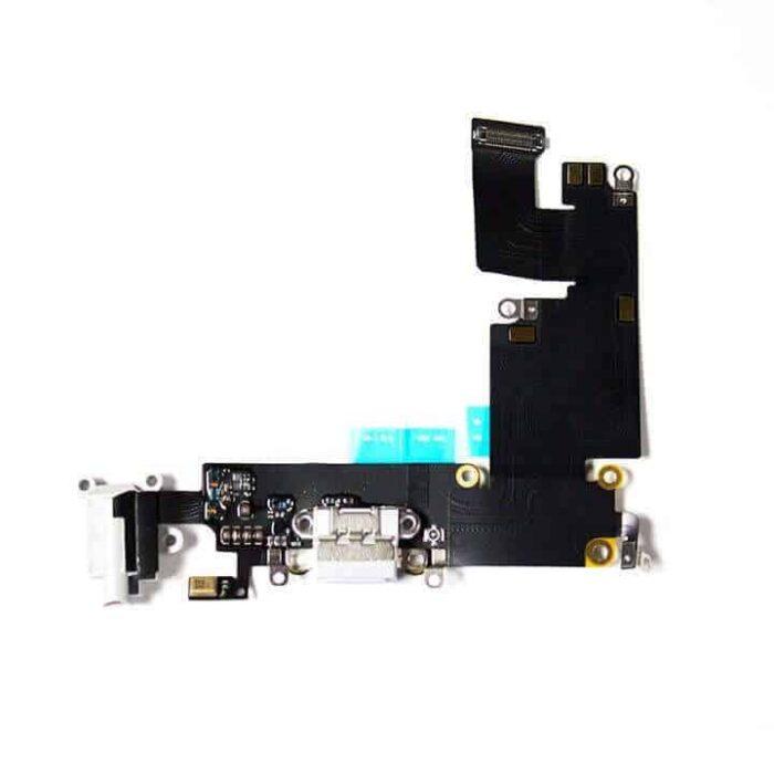 iPhone 6 Plus / 6+ Latausliitin Flex Kaapeli (Valkoinen) 1