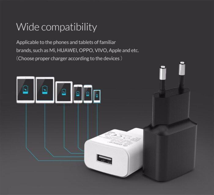 ORICO USB-virtalähde/laturi 5V 2A 4