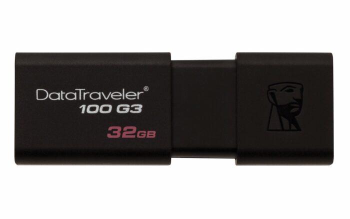Kingston 32 GB DataTraveler 100 G3 USB 3.0 / 3.1-muistitikku 1