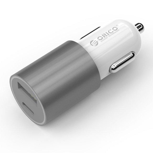 ORICO Autolaturi USB 2/Type-C 5V/3A 1
