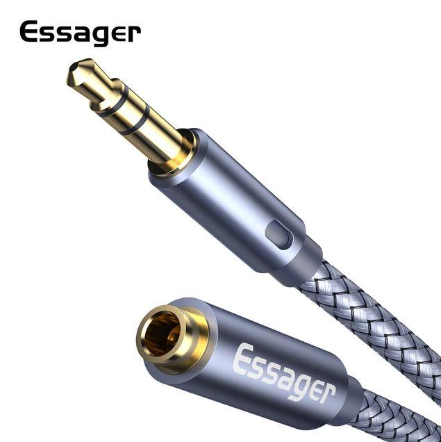 ESSAGER AUX-jatkokaapeli 3.5mm n/u 1