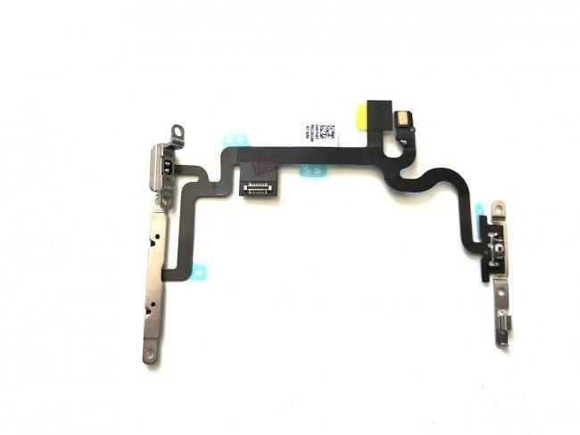 iPhone 7 Virta- ja äänenvoimakkuusnäppäimien flex-kaapeli 2