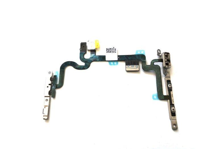 iPhone 7 Virta- ja äänenvoimakkuusnäppäimien flex-kaapeli 1
