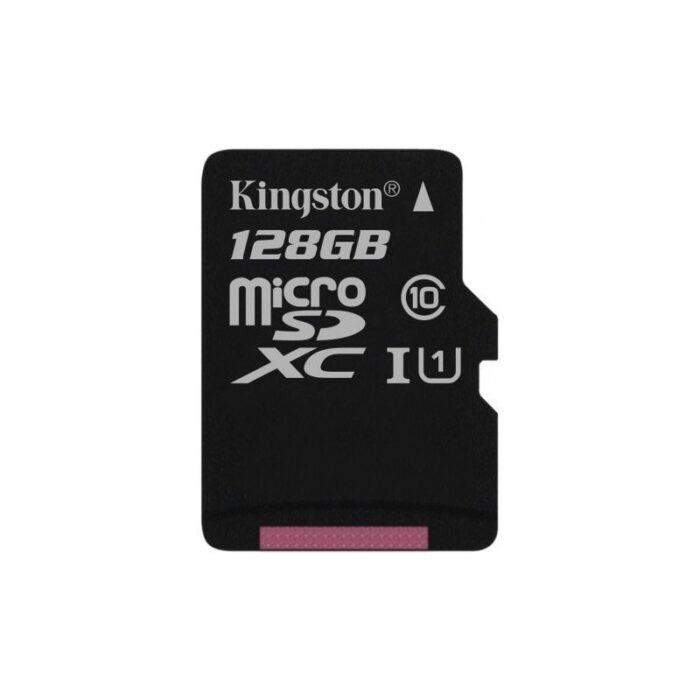 Kingston 128 Gt microSD Canvas Select UHS-I Speed Class 1 (U1) -muistikortti 1