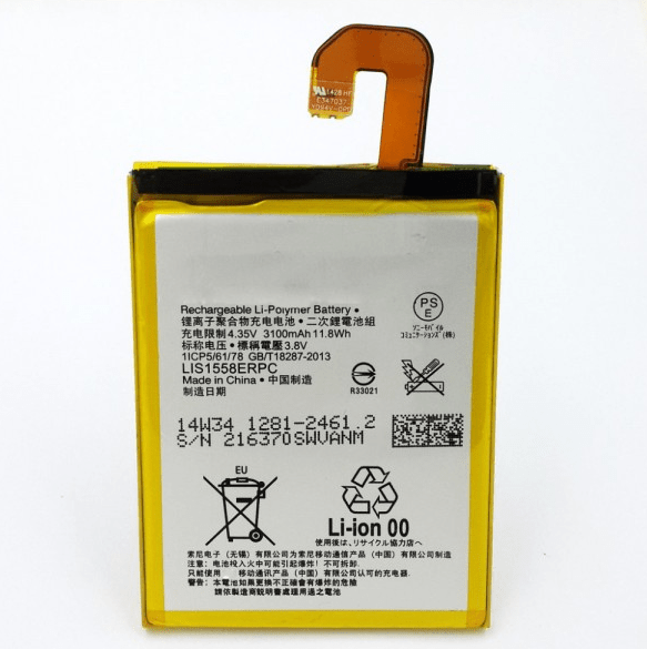 Sony Xperia Z3 akku + työkalut 1