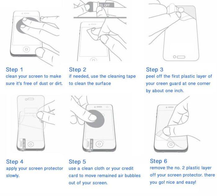 Celly Perfetta suojakalvo Samsung Galaxy S6 Edge 2