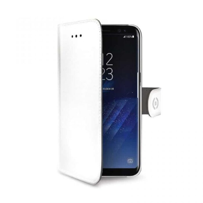 Samsung Galaxy S8 PLUS lompakkokuori valkoinen 1