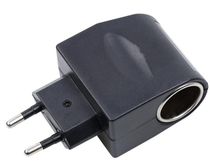 230V to 12V - tupakansytytin adapteri 1