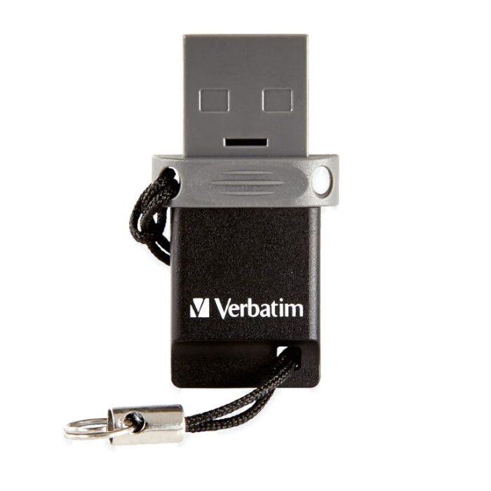 Verbatim Dual USB-A / MicroUSB muistitikku 32GB 3