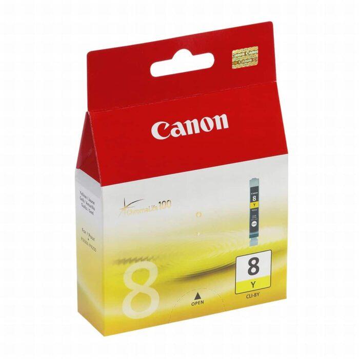 Canon CLI-8Y keltainen mustekasetti 1
