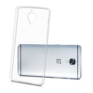 OnePlus 3/3T  takakuori (silikoni,läpinäkyvä) 1