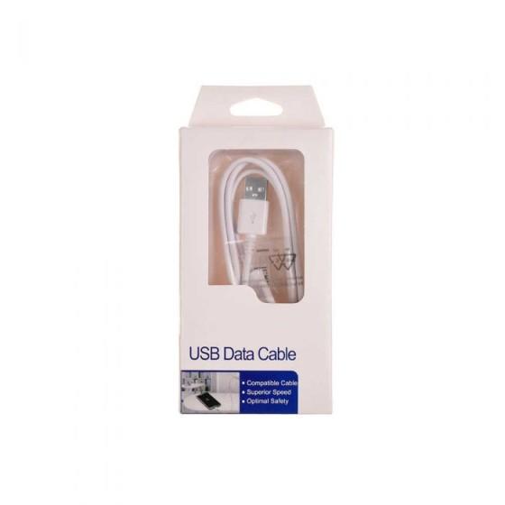 Micro USB Kaapeli - Valkoinen, 1M 2