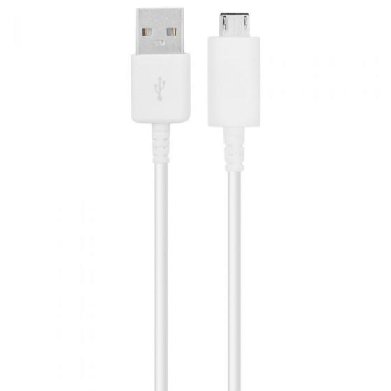 Micro USB Kaapeli - Valkoinen, 1M 1