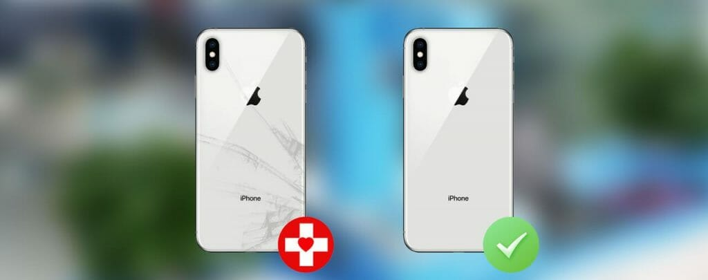 iPhone takalasin vaihto -LASER- 1