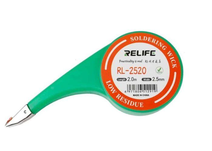RELIFE Tinaimunauha 2,5 mm x 2M - RL-2520 1